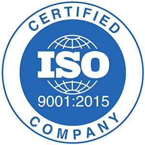 ISO 9001 -  internationally recognized standard for Quality Management Systems